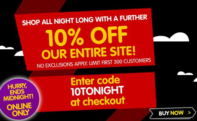 10% #Off Our Entire #Site! Yes - #EVERYTHING - NO #Exclusions!  http://goo.gl/kVY2rD
