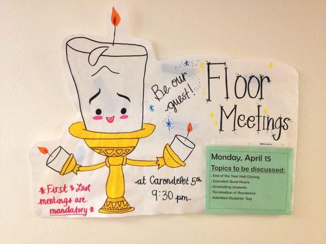 mandatory meeting flyer