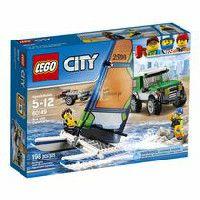 LEGO City Great Vehicles Le 4x4 avec catamaran (60149)