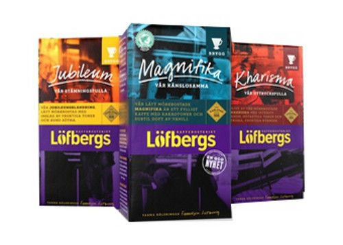 Lofbergs Lila All 12 Ground Coffee Filter & Boiled  Made in Sweden #LfbergsLila