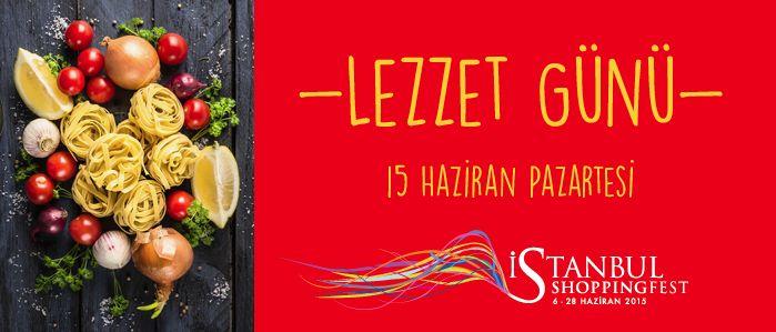Bugün Lezzet Günü! Pazartesi sendromu için güzel bir öğle yemeği bire bir! #istshopfest http://istshopfest.com/lezzet_gunu/