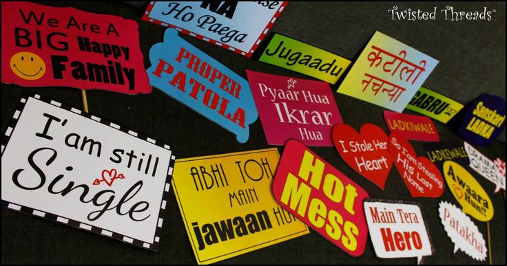 photo props indian wedding - Google Search