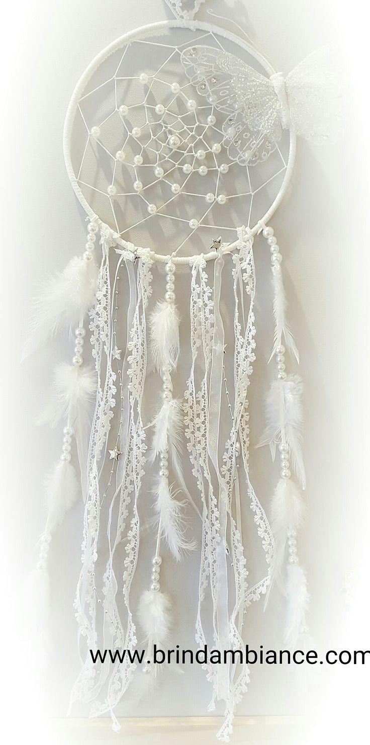 I love this New dreamcatcher I created for our dreams !!!!! Pourquoi pas pour un mariage ????