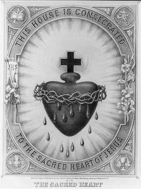 Sagrado Corazón de Jesus, ten misericordia con nosotros.