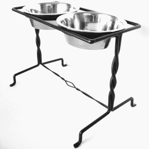 mounted bowls dog feeders dishes pet custom to food modern elevated feeder personalized pertaining