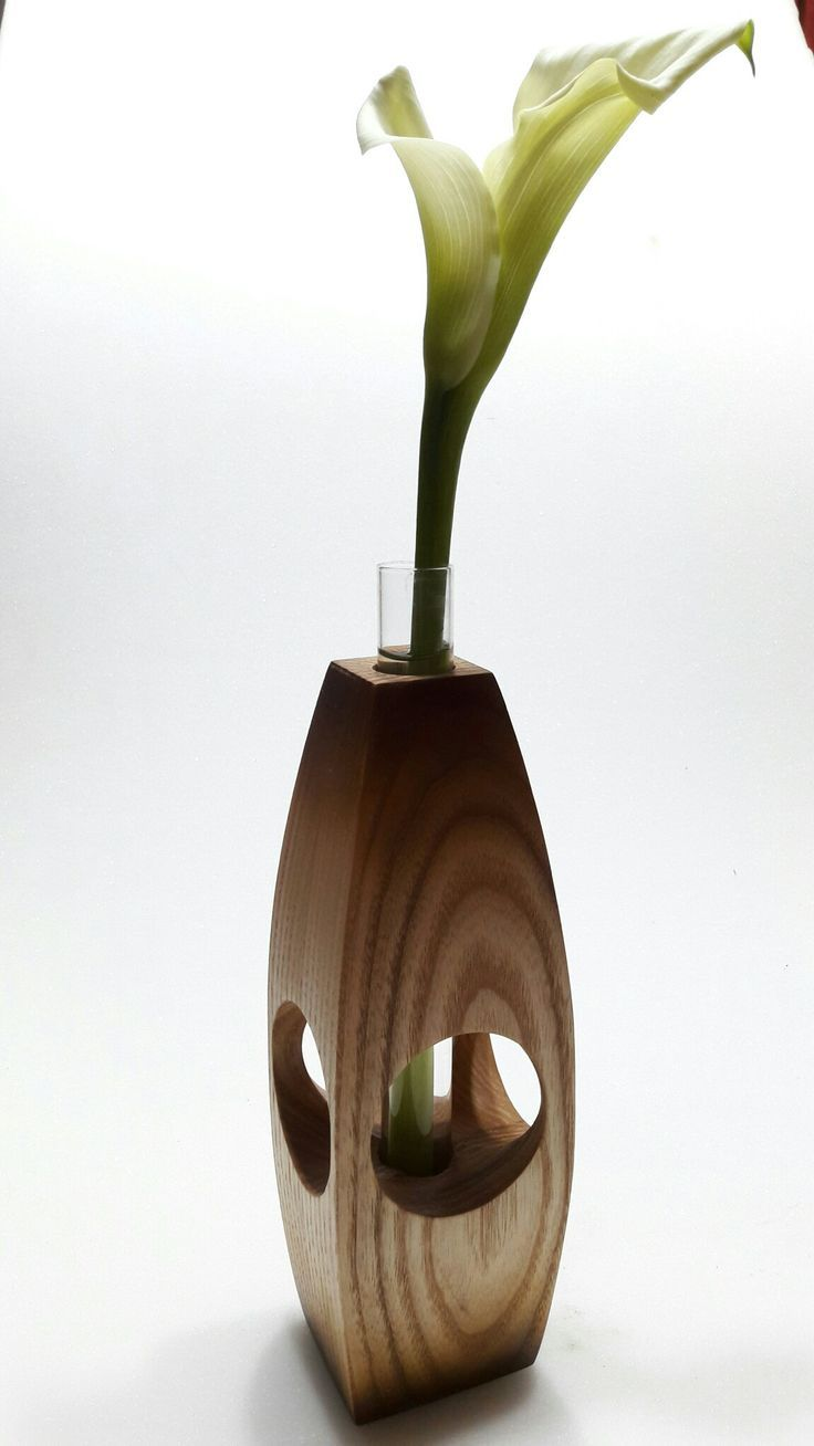 Smotrite Moyu Dosku Wood Vase Wood Crafts Wood Vase Wooden Vase