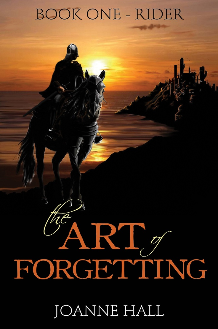 The Art of Forgetting by Joanne Hall (cover by E.Enoksen)
