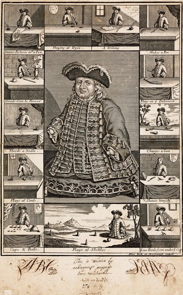 Teller reviews Ricky Jay's life of Matthias Buchinger (1674-1739), an extraordinary 29-inch-tall magician.
