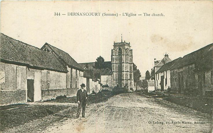 Dernancourt pre-5th April 1918