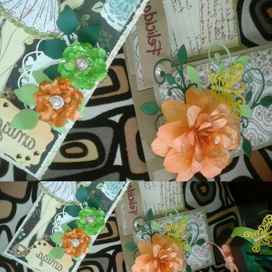 Flores Scrapbooking