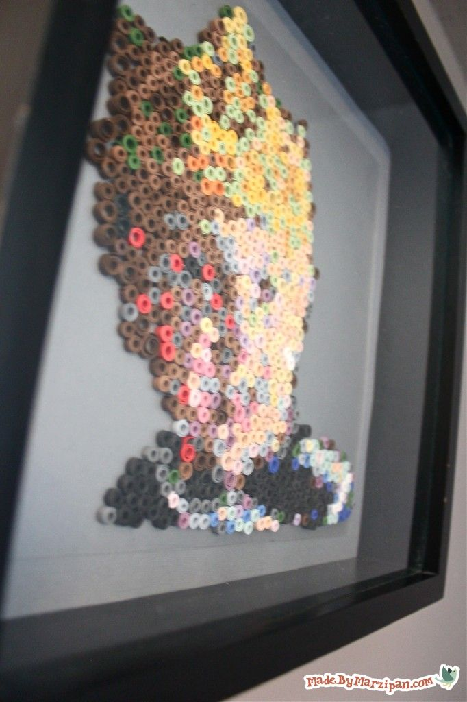 Just pixels… or a picture? Use a classic quilling technique to make this modern art paper project that begins with a photograph.: Paper Quilling, Bead Patterns, Fused Beads, Art Paper, Perler Beads, Paper Projects, Origami Pap Crafts, Paper Crafts, Beads Pattern