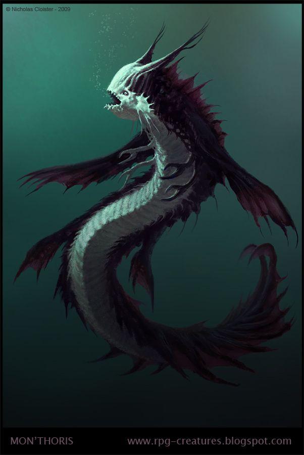 Mon'thoris - creature concept by Cloister on deviantART