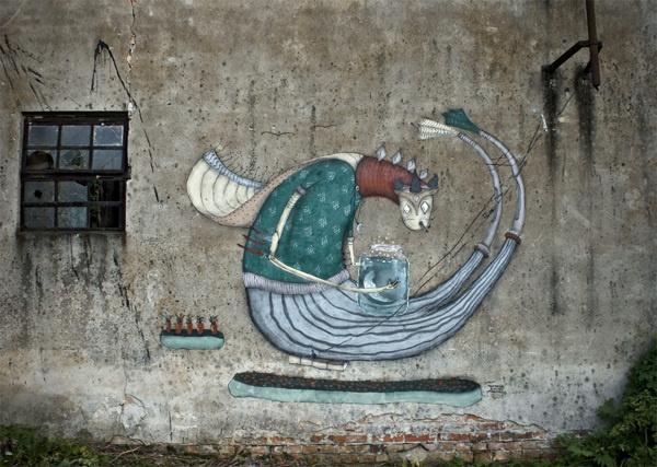 Old-slavic characters by Mikołaj Rejs, via Behance