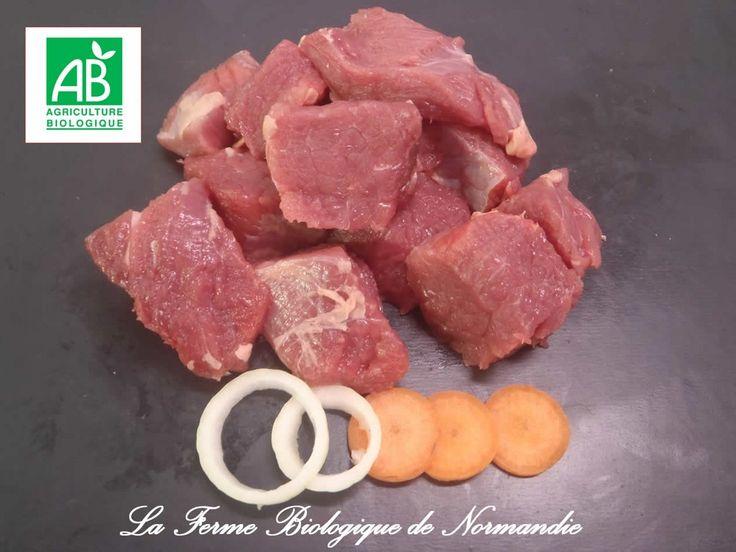 Bourguinon bio délicieux et tendre,  race limousine, race à viande.