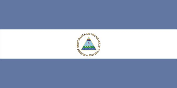 Country Flags: Nicaragua Flag