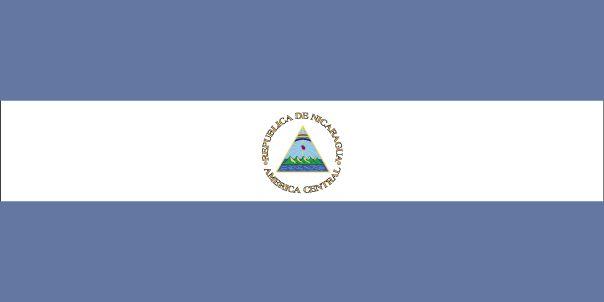 Country Flags: Nicaragua Flag