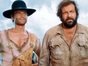Die linke und die rechte Hand des Teufels, Der müde Joe und der Kleine aka Bud Spencer & Terence Hill;