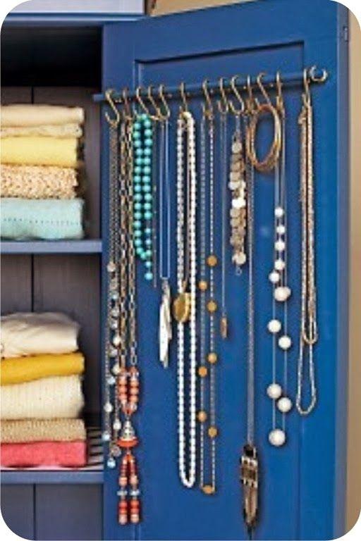 Порядок в доме - гармония в семье: Хранение украшений. 15 идей - 39 вариантов!