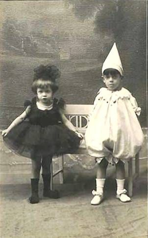 Spectacular pinheads!    Vintage Children ~ Kids in Costume by chicks57, via Flickr
