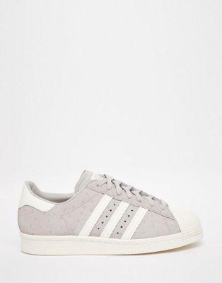 adidas Originals - Superstar - Scarpe da ginnastica anni '80 color granito chiaro