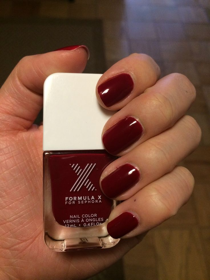 The 68 best (Mostly) Vampy Nails images on Pinterest | Nail polish ...