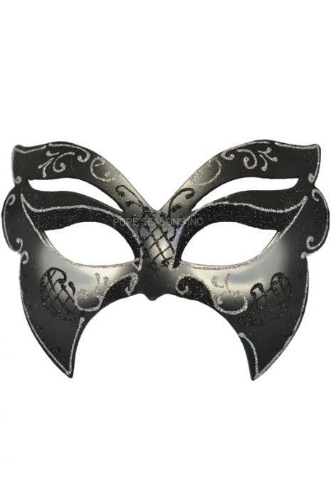Falena Venetian Mask (Silver)