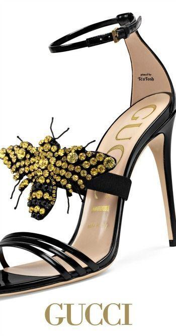 9a7d326372 chaussures Gucci   Mode Femmes en 2019   Gucci chaussures, Chaussure ...