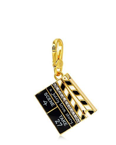 Clapperboard Juicy Couture Charm ♡ed by LadyXeona.com