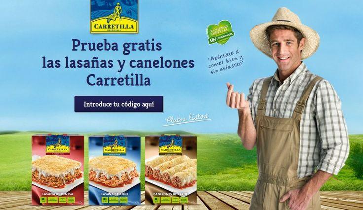Prueba gratis las lasañas y canelones Carretilla gracias a esta promoción que Carretilla pone para tí.  Promoción válida para España hasta 01/10/2014.  Más información aquí: http://www.baratuni.es/2014/05/muestras-gratis-lasana-canelones-carretilla.html  #muestrasgratis #carretilla #alimentacion #ahorro