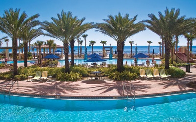 Panama City Beach, Florida - Shores of Panama. Shores of Panama unit 2317 is the best! Penthouse with killer view.