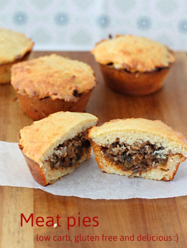 Low carb aussie meat pies. Absolutely delicious #lowcarb #lchf #atkins #diabetic #diabetes