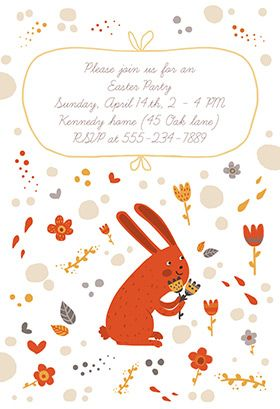 The  Best Images About Easter Invitations Templates On