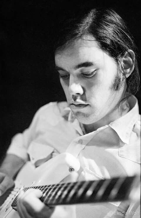 Lowell George (Little Feat) - Photo by Linda Wolf, 1970