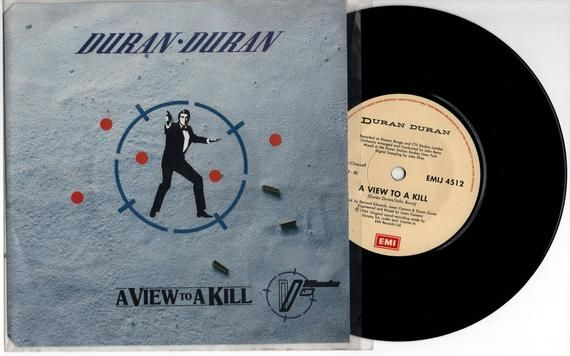 Duran Duran A View To A Kill 1985 South Africa Issue Very Rare 7