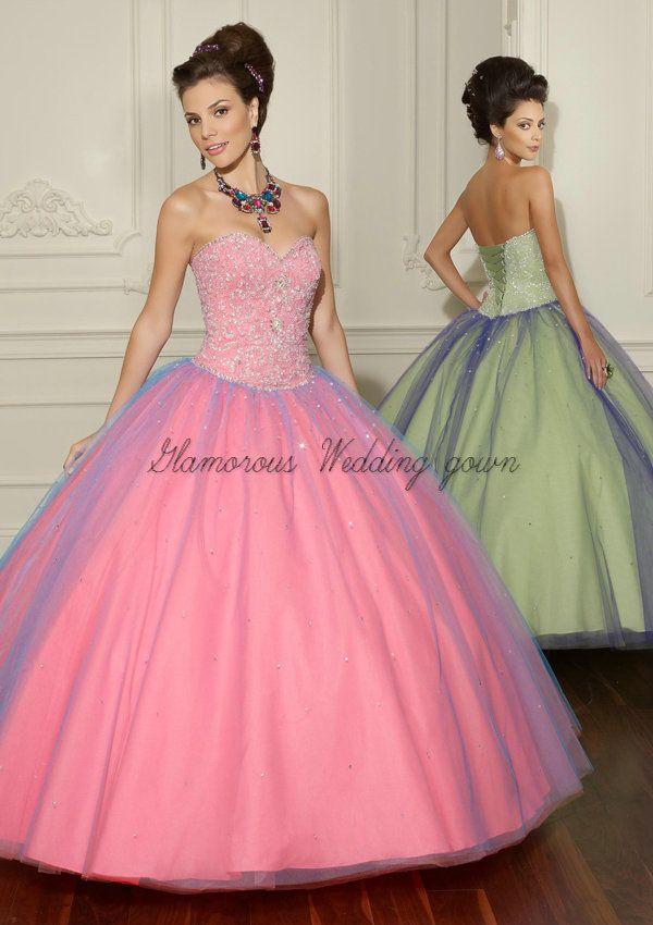 51 best Quinceanera Dresses images on Pinterest | Quinceanera ...