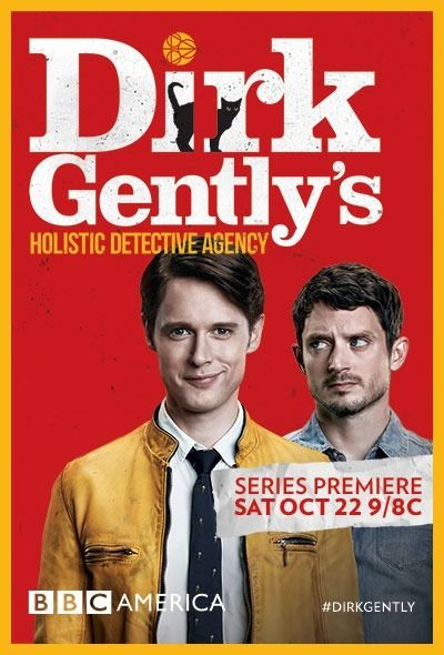 Dirk Gently's Holistic Detective Agency (2016) LMBO What a freaky funny (if you like British humor) surreal show.  Hooked on the first episode.