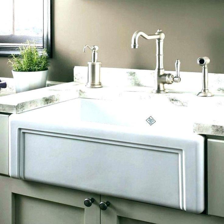 Apron sink size farmhouse for inch o single basin