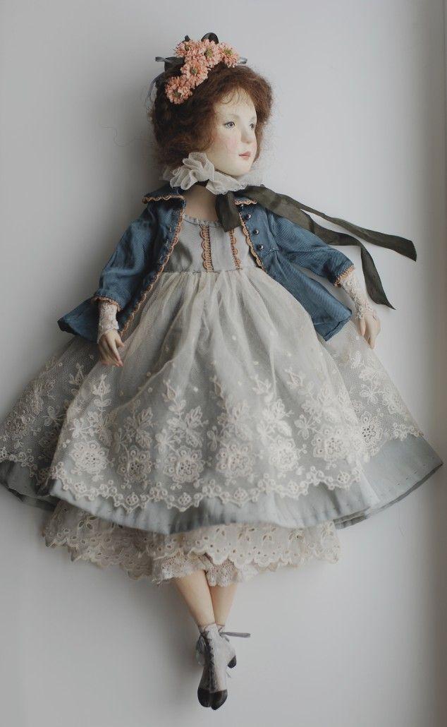 Куклы Ольги Сукач   Маргаритки