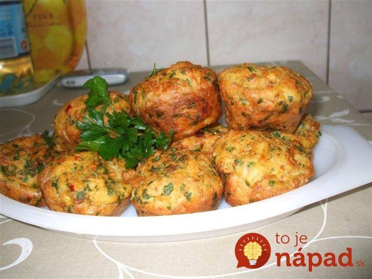 Namiesto prílohy k nedeľnému obedu ich vyskúšajte ako chutné slané koláčiky, upečené jednoducho a rýchlo - vo forme na muffiny.