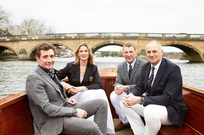 At a private rowing lesson by Alex Gregory and Sir Steve Redgrave we take a look at the recent Henley Regatta Partnership with Bremont.
