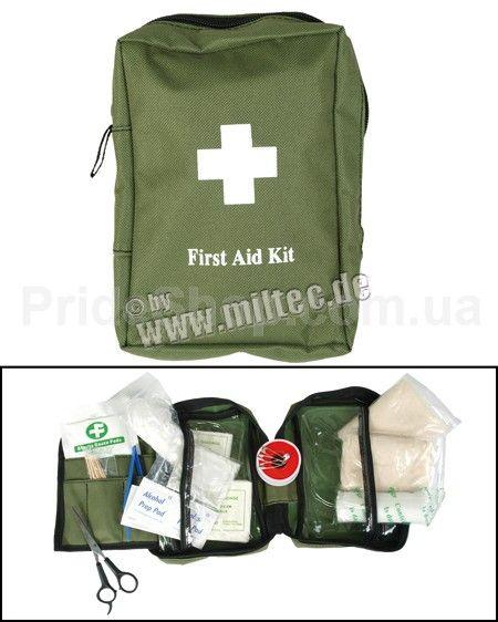 MIL-TEC Аптечка первой помощи (OD) * 16027001 - Аптечки - Тактическое снаряжение - Снаряжение :: интернет магазин Prideshop.com.ua