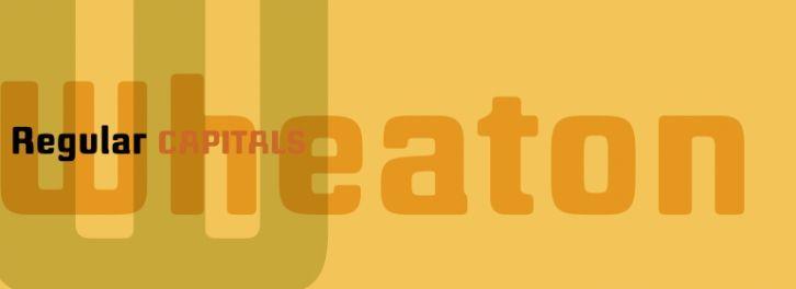 Wheaton font download