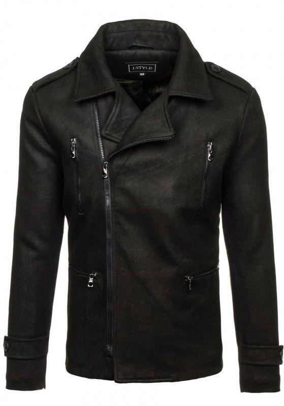 Pánský kabát - Brian, černý