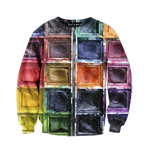 Beloved Shirts Paints Unisex Sweatshirt