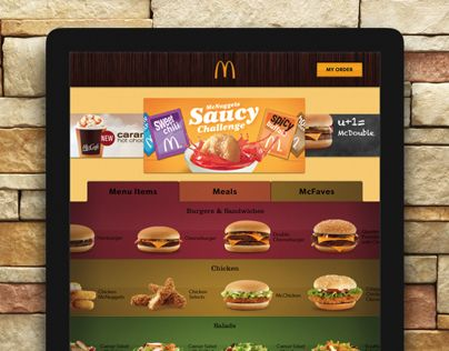"Check out this @Behance project: ""Interactive McDonald's Menu"" https://www.behance.net/gallery/4053547/Interactive-McDonalds-Menu"