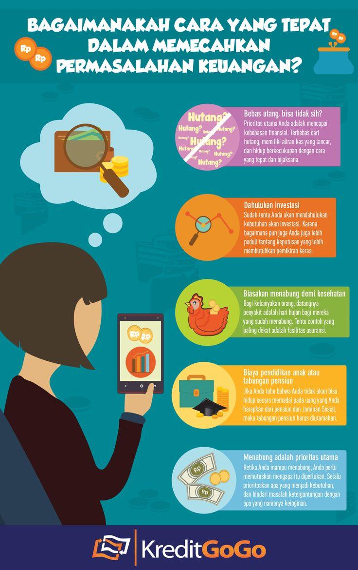 Bagaimanakah Cara yang Tepat dalam Memecahkan Permasalahan Keuangan? https://kreditgogo.com/artikel/Tips-Keuangan/Bagaimanakah-Cara-yang-Tepat-dalam-Memecahkan-Permasalahan-Keuangan.html #InfoGrafik #TipsKeuangan #PersonalLoan #Graphic #InfoKeuangan #Keuangan #FinancialServices