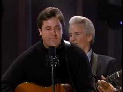 The Del McCoury Band along with Vince Gill sing Crying Holy on the All Star Bluegrass Celebration DVD. Recorded at the Ryman Auditorium in Nashville, TN on January 16th 2002