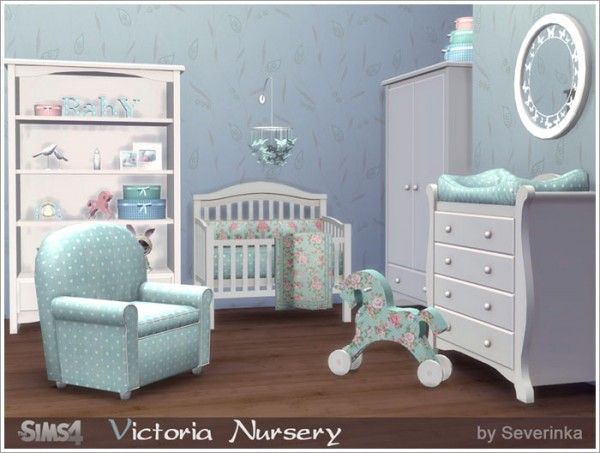Sims by Severinka: Victoria nursery • Sims 4 Downloads