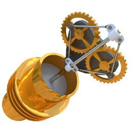 Image of 3D model 'Beta stirling'