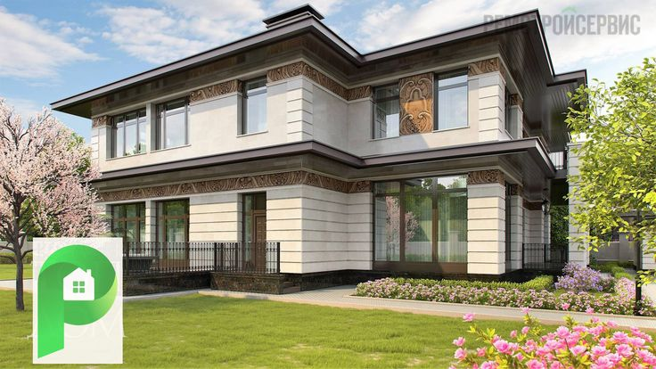 Красивый дом со всех сторон ! | Ремстройсервис | http://www.hmkmos.ru/dom_v_stile_frenka_lloyda_rayta.html